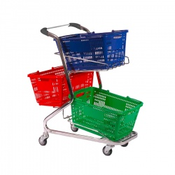 Small Shopping Basket Trolley