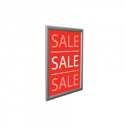Snap Frame Sign Holders - Square Corners
