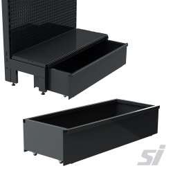 Versa Storage Drawer with Rollers