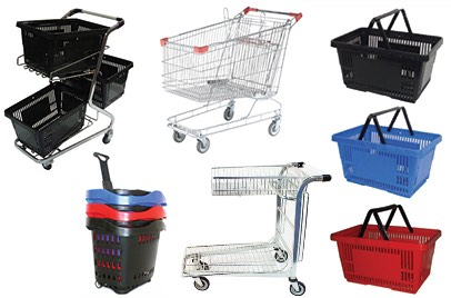 Shopping Trolleys & Baskets