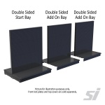 High quality, heavy duty retail store shelving in pegboard
