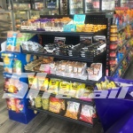 Versa End Cap Shelving in Convenience Store