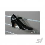 Slatwall shoe holder